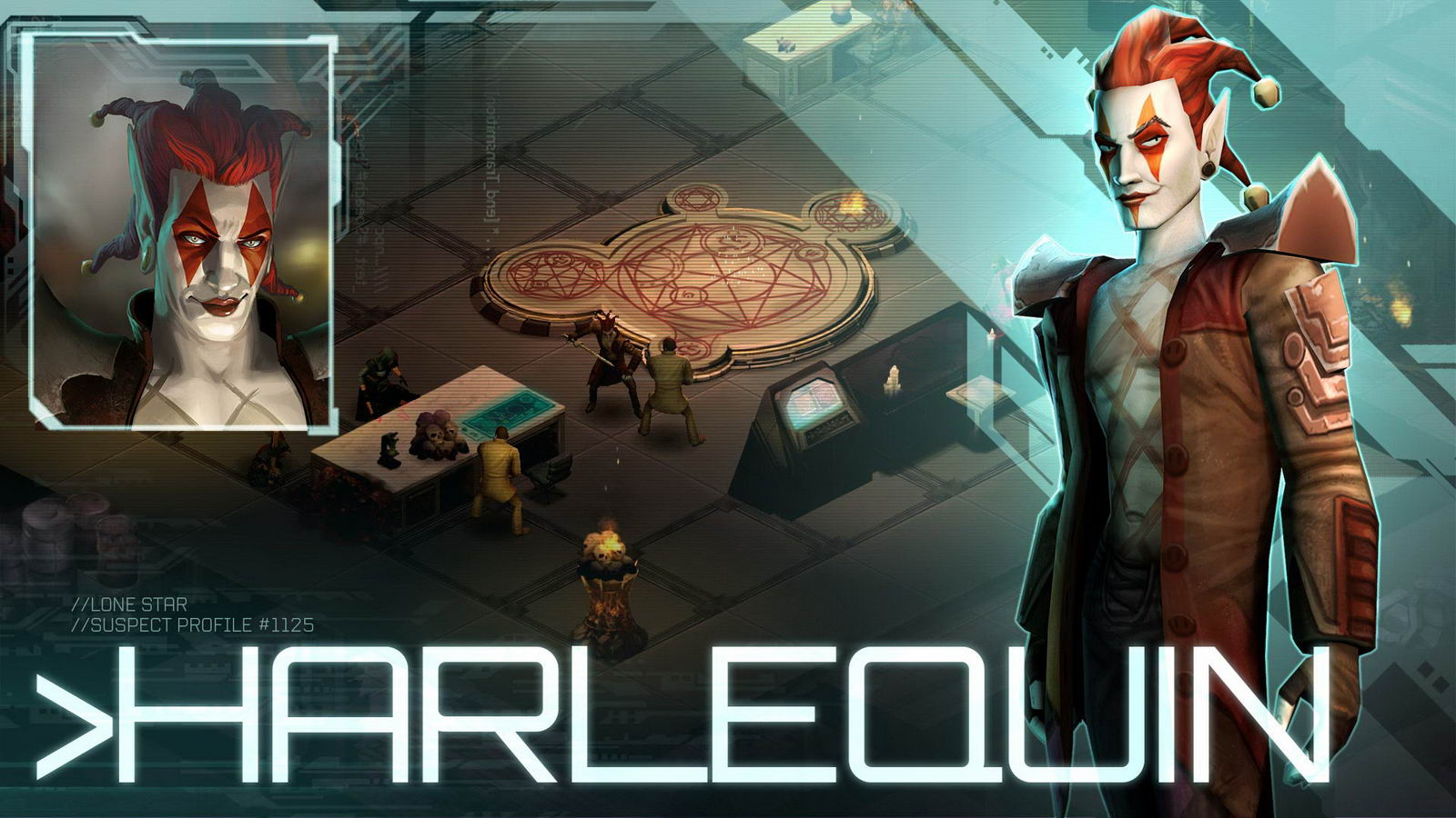 Арт Shadowrun Returns