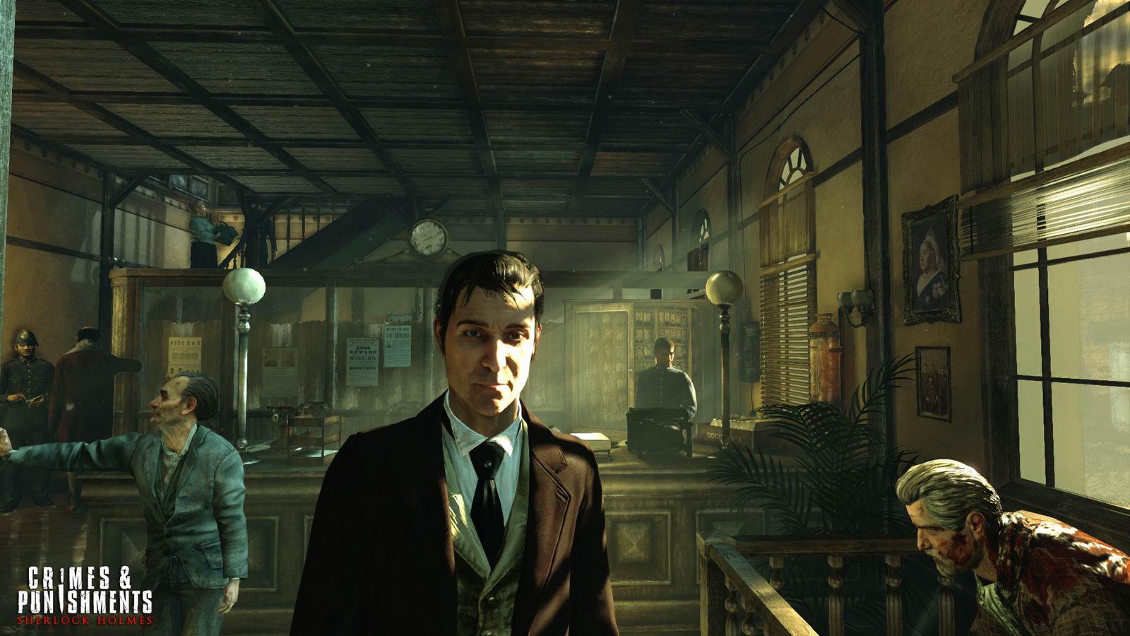 Скриншот Sherlock Holmes: Crimes & Punishments