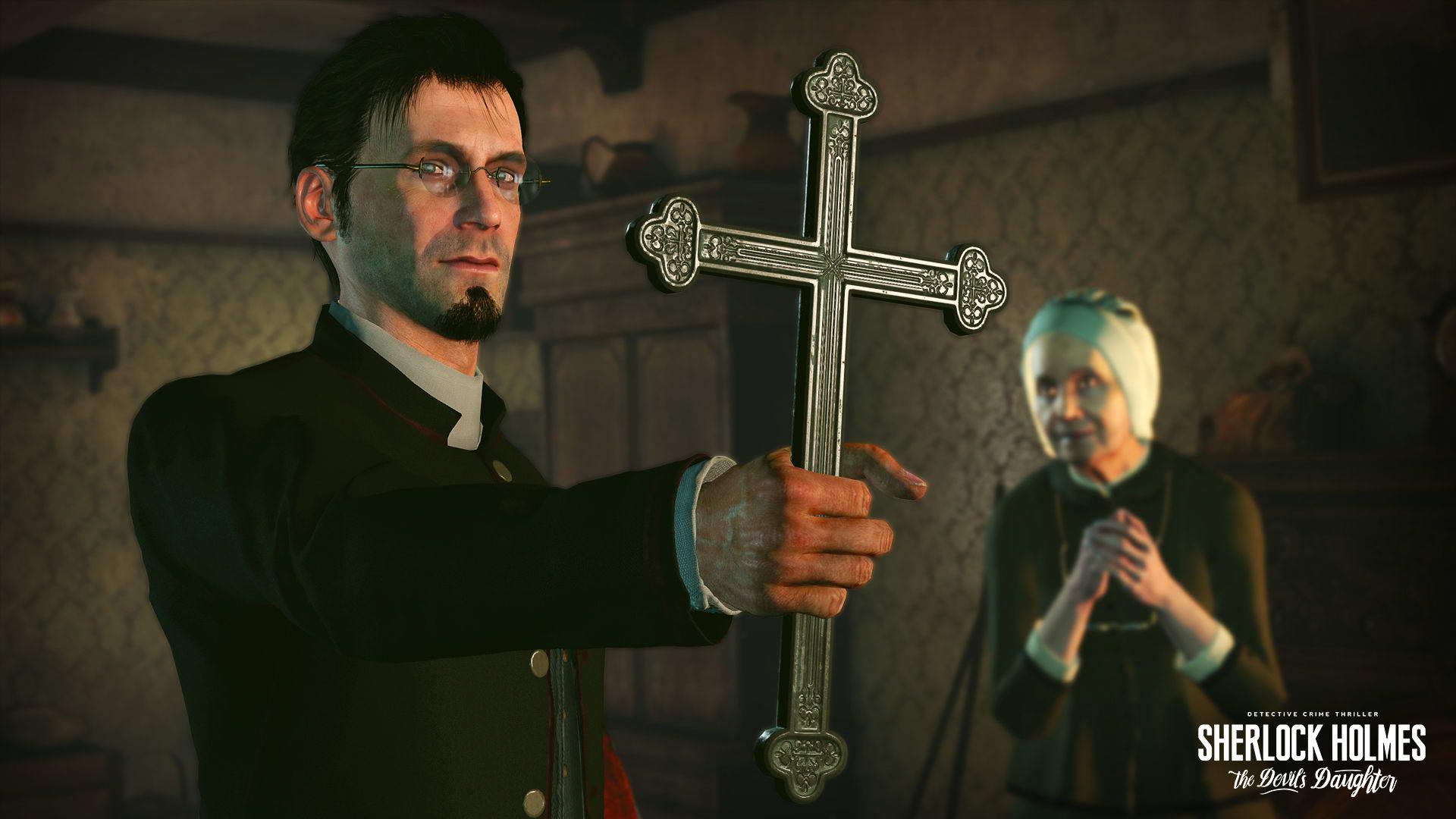 Скриншот Sherlock Holmes: The Devil's Daughter