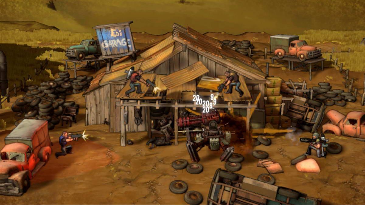 Скриншот Shoot Many Robots