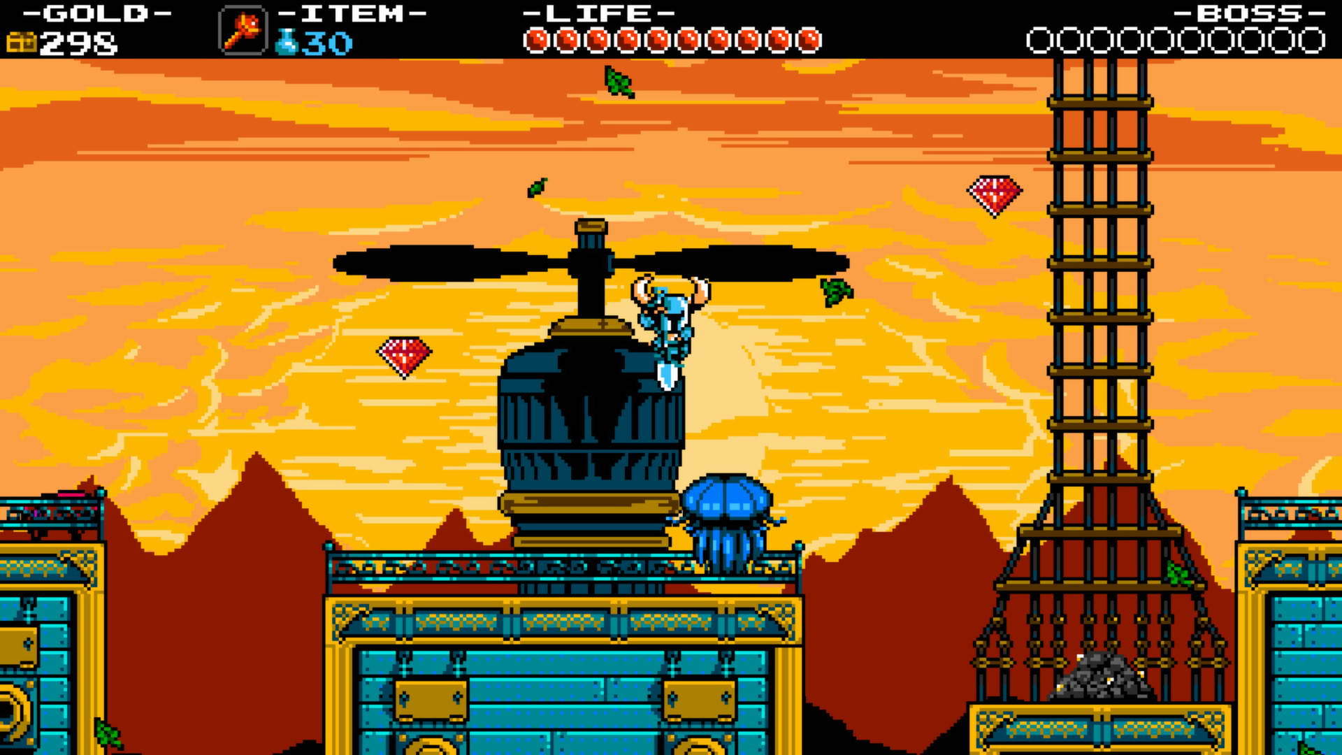 Скриншот Shovel Knight