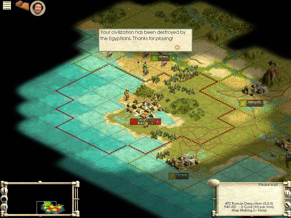 Скриншот Sid Meier's Civilization III: Play the World