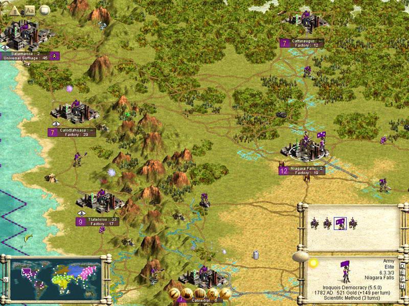 Скриншот Sid Meier's Civilization III