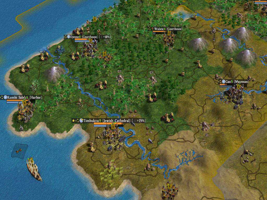 Скриншот Sid Meier's Civilization IV