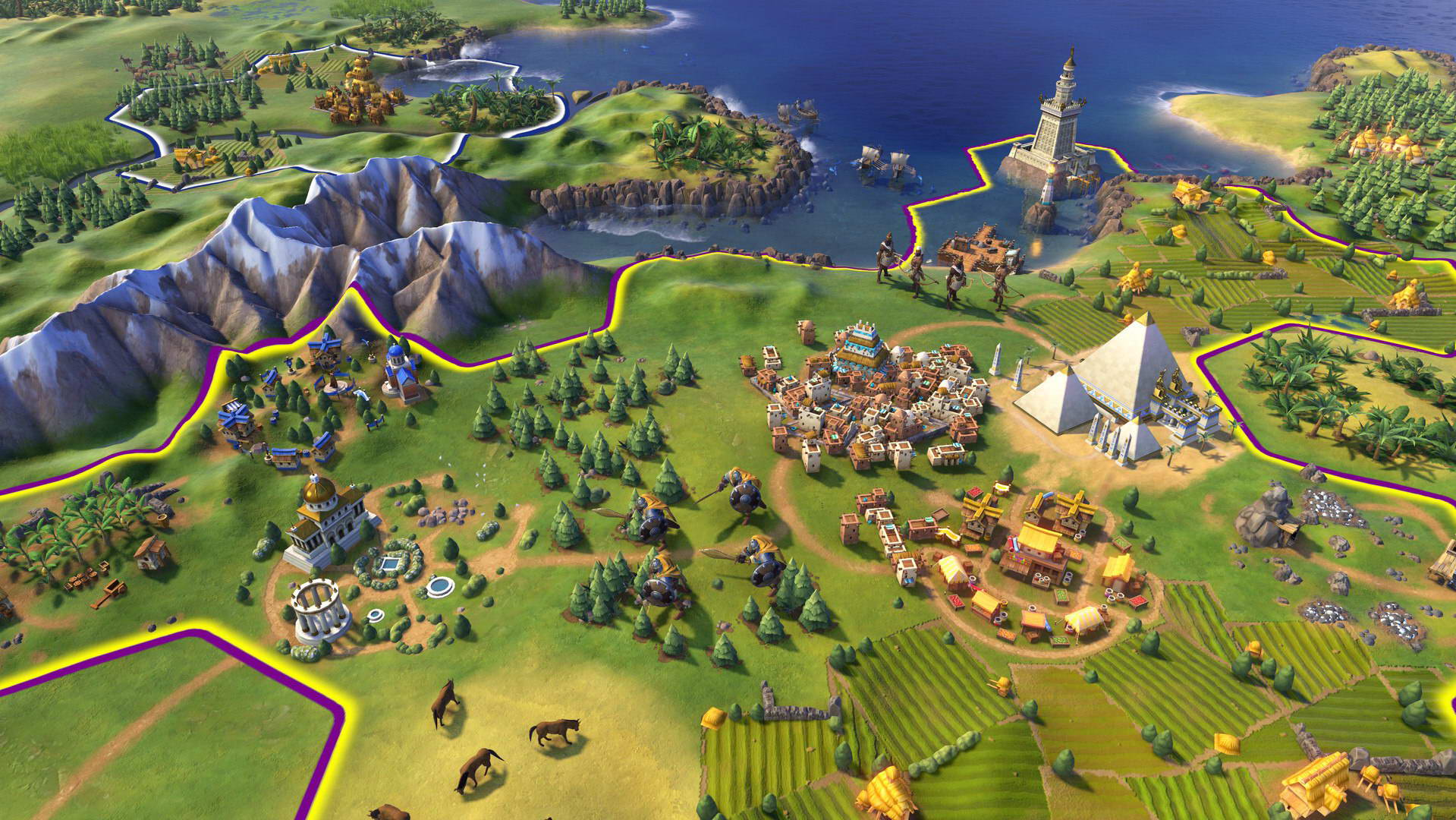 Скриншот Sid Meier's Civilization VI