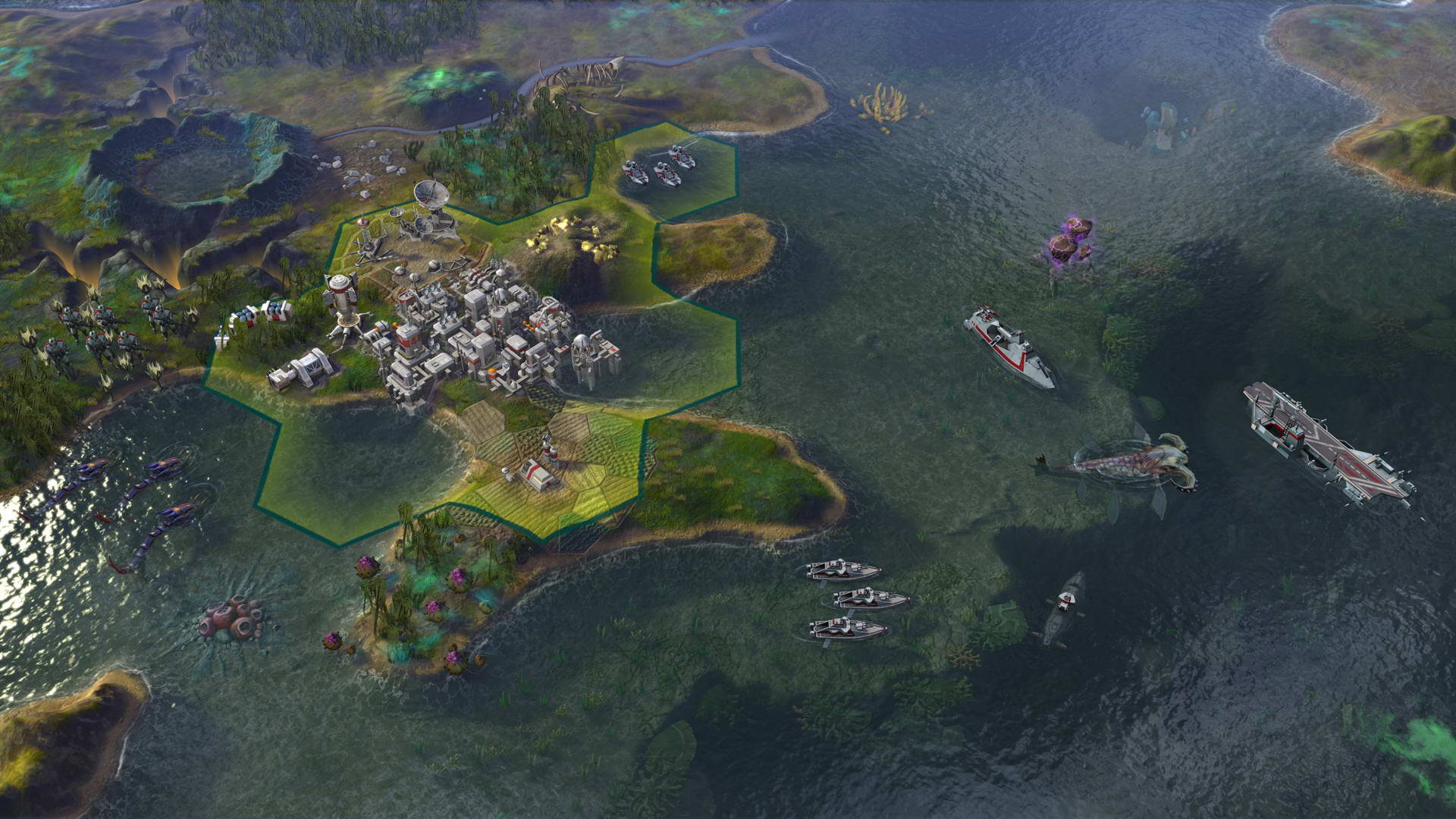 Скриншот Sid Meier's Civilization: Beyond Earth - Rising Tide
