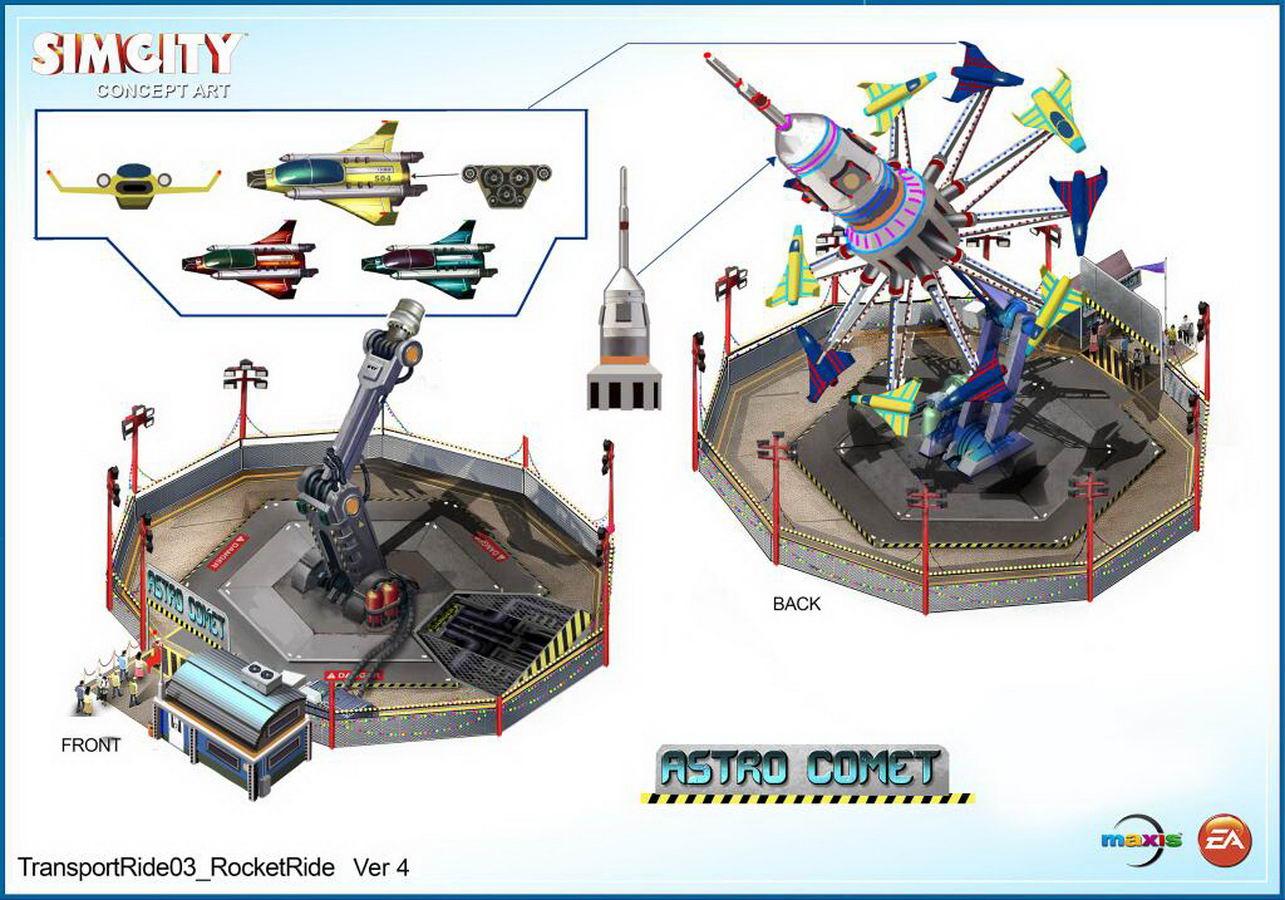 Арт SimCity