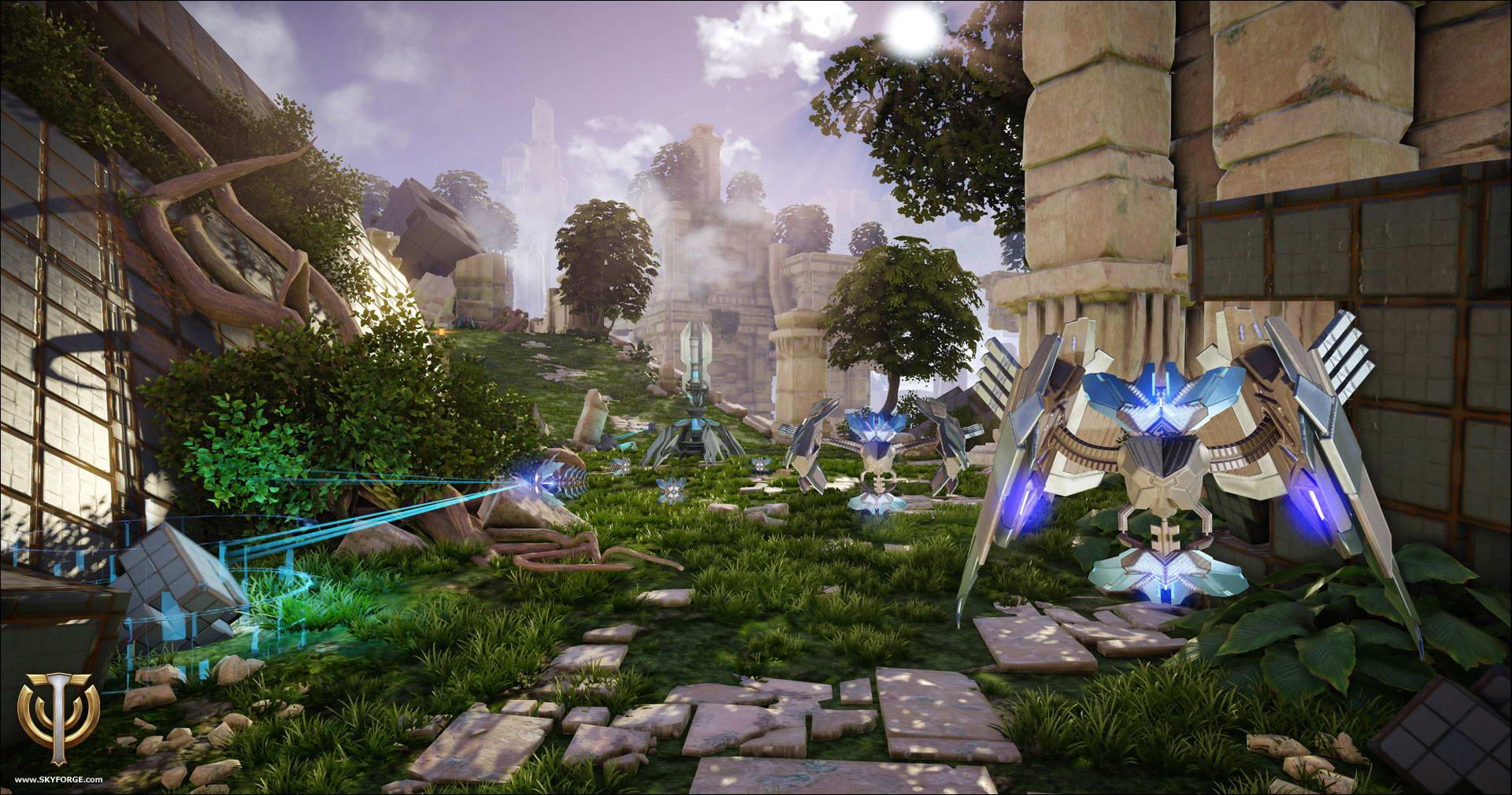 Скриншот Skyforge