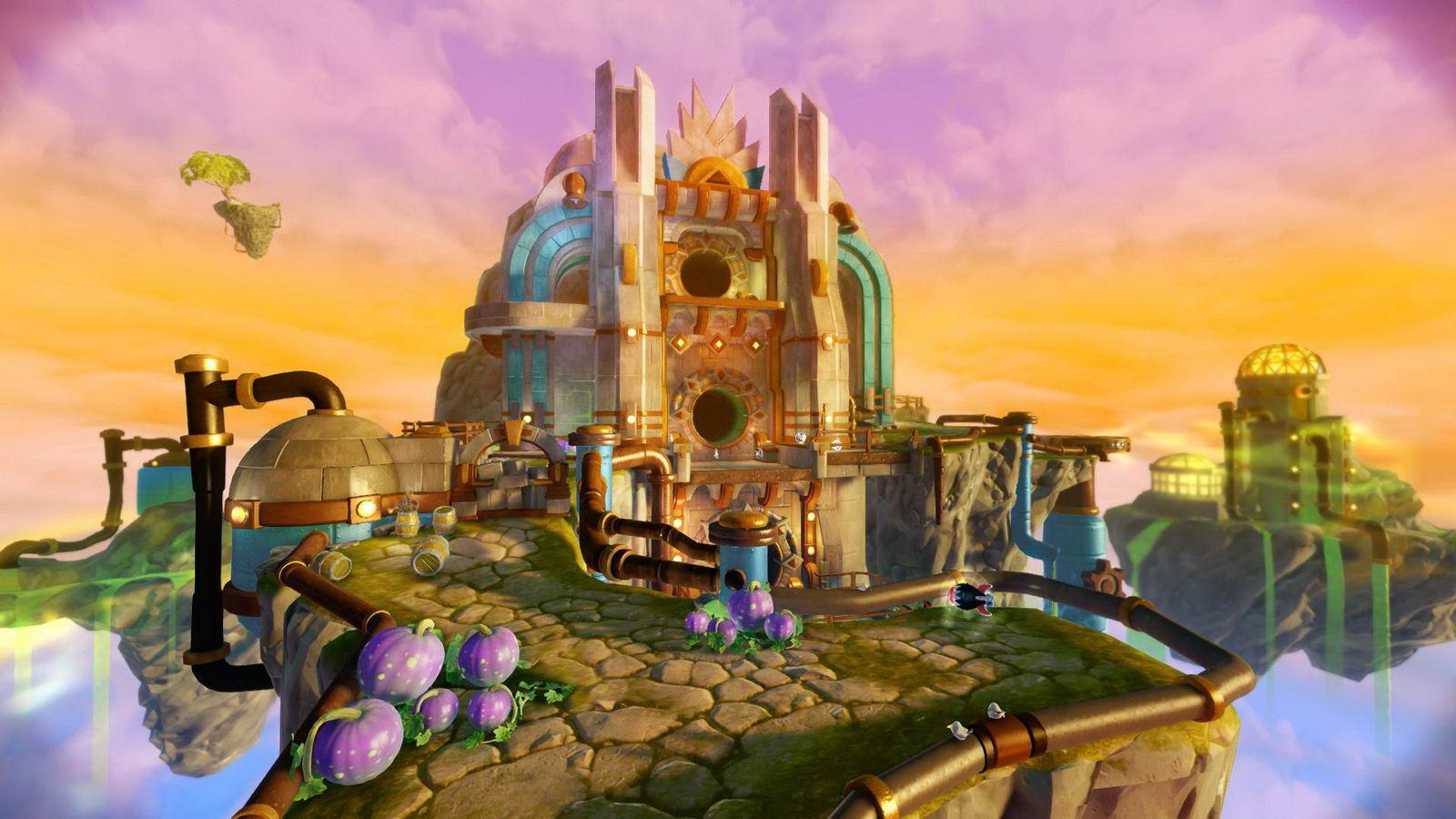 Скриншот Skylanders: Trap Team