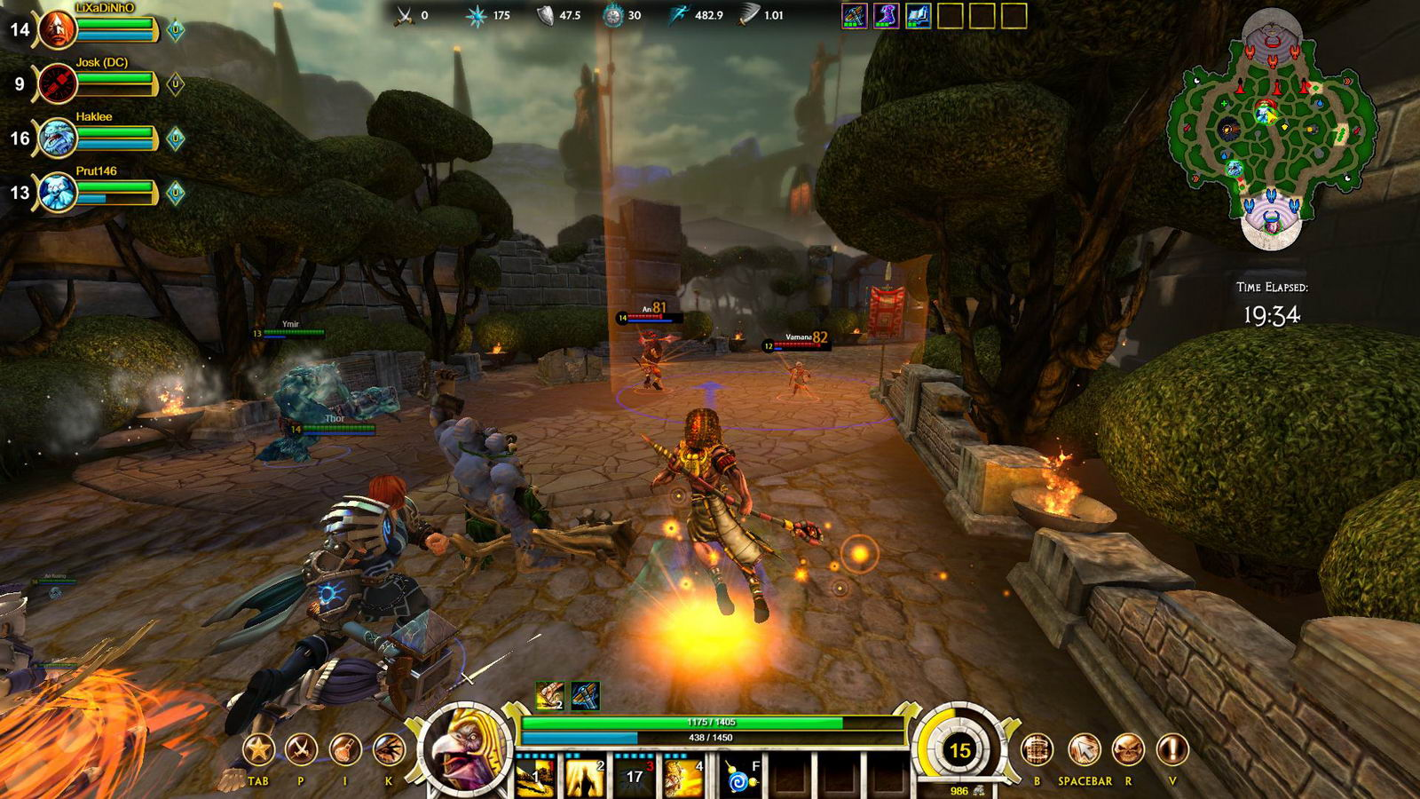 Скриншот Smite