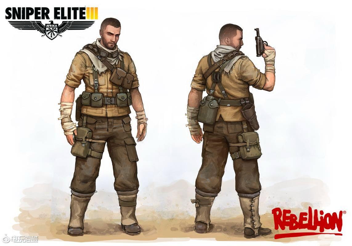 Арт Sniper Elite 3