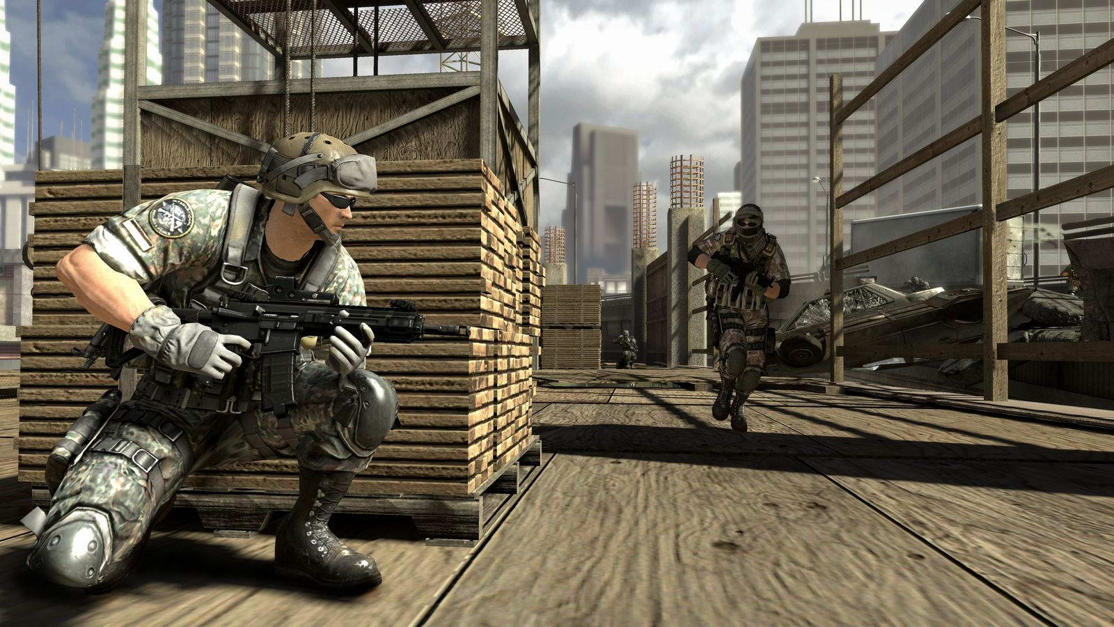 Скриншот SOCOM 4: U.S. Navy SEALs
