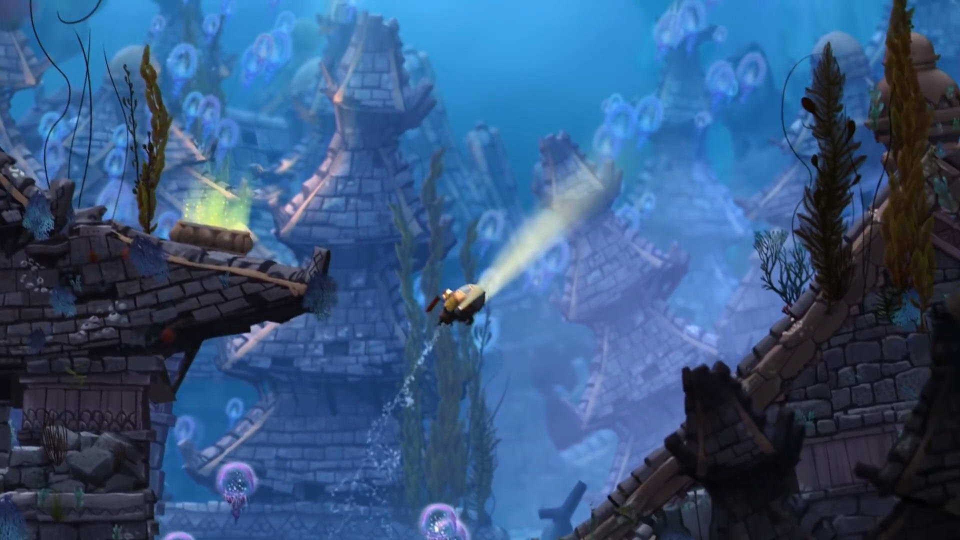 Скриншот Song of the Deep