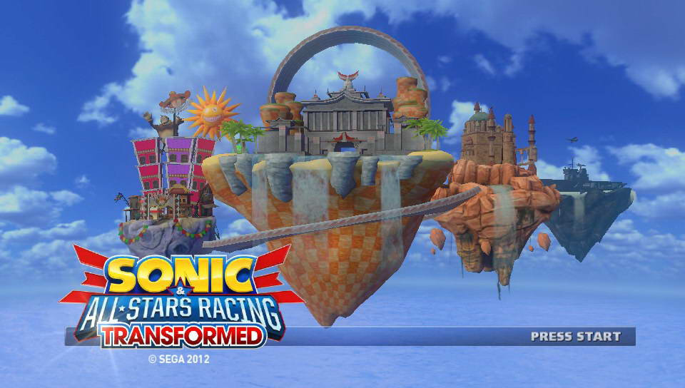 Скриншот Sonic & All-Stars Racing Transformed