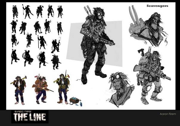 Арт Spec Ops: The Line