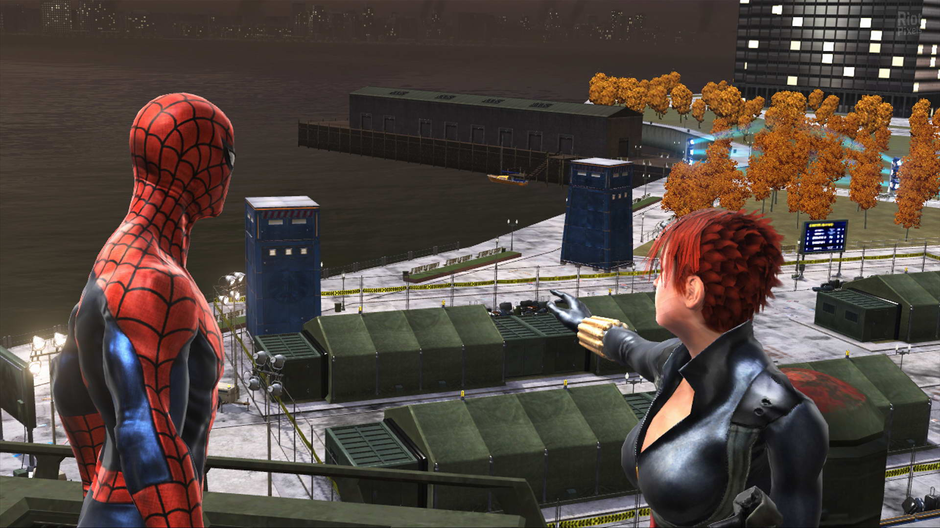 Скриншот Spider-Man: Web of Shadows