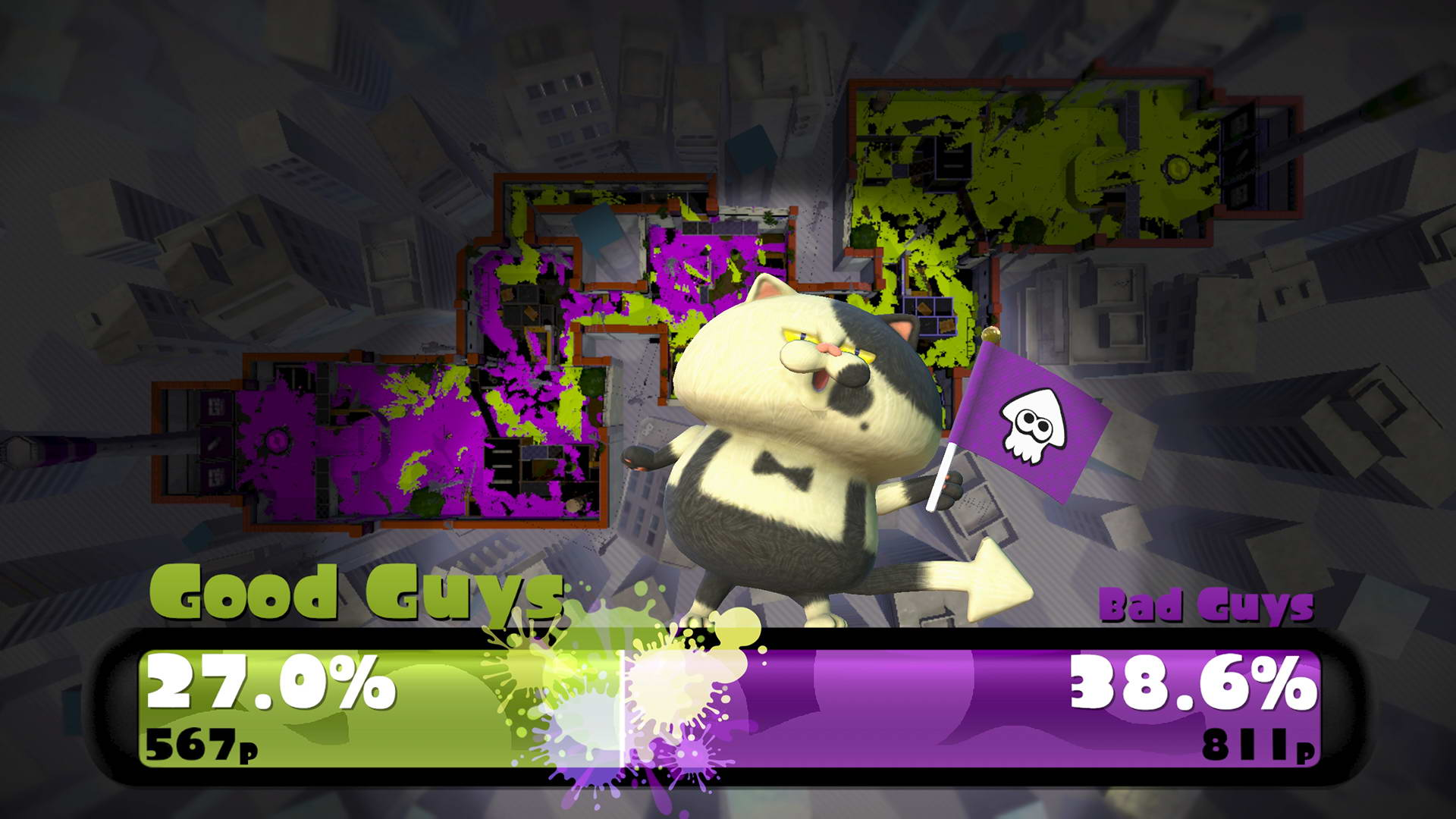 Скриншот Splatoon