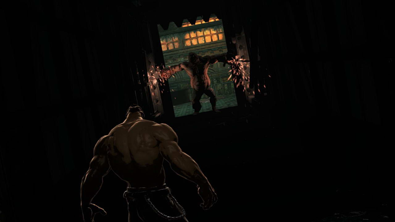 Скриншот Splatterhouse
