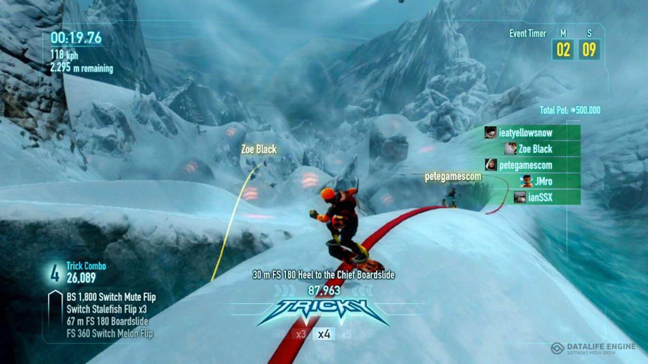 Скриншот SSX