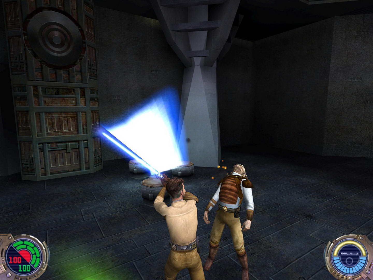 Скриншот Star Wars: Jedi Knight II - Jedi Outcast
