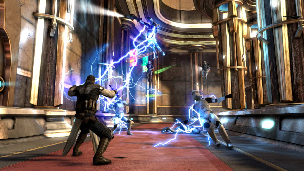Скриншот Star Wars: The Force Unleashed II