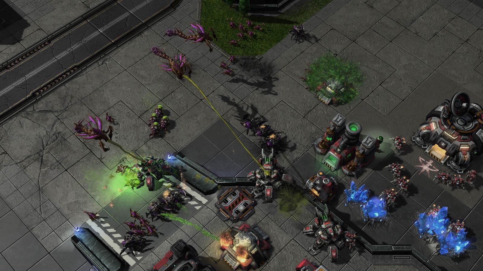 Скриншот StarCraft II: Heart of the Swarm