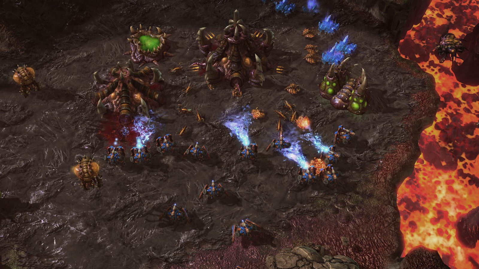 Скриншот StarCraft II: Heart of the Swarm
