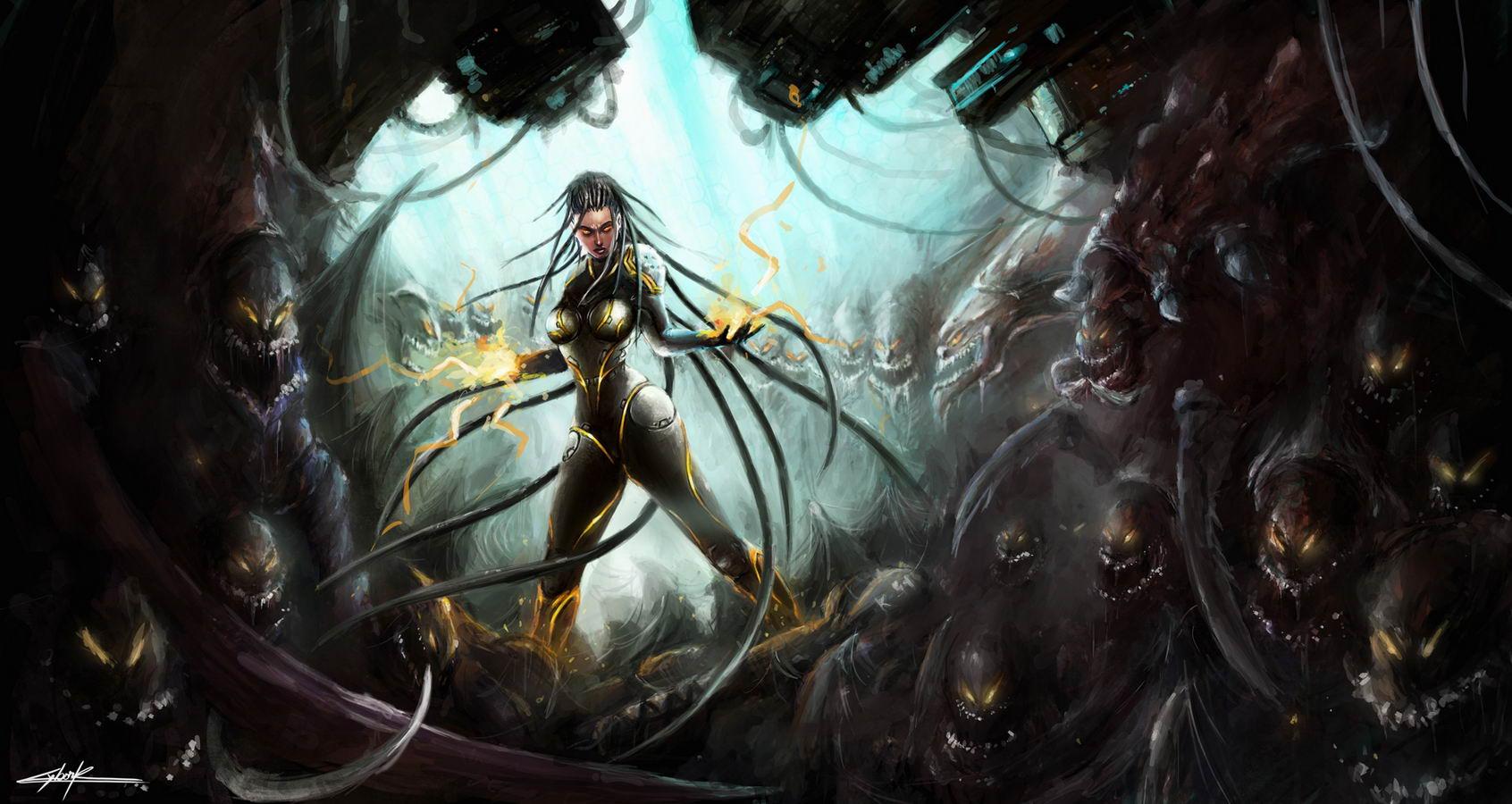 Арт StarCraft II: Heart of the Swarm
