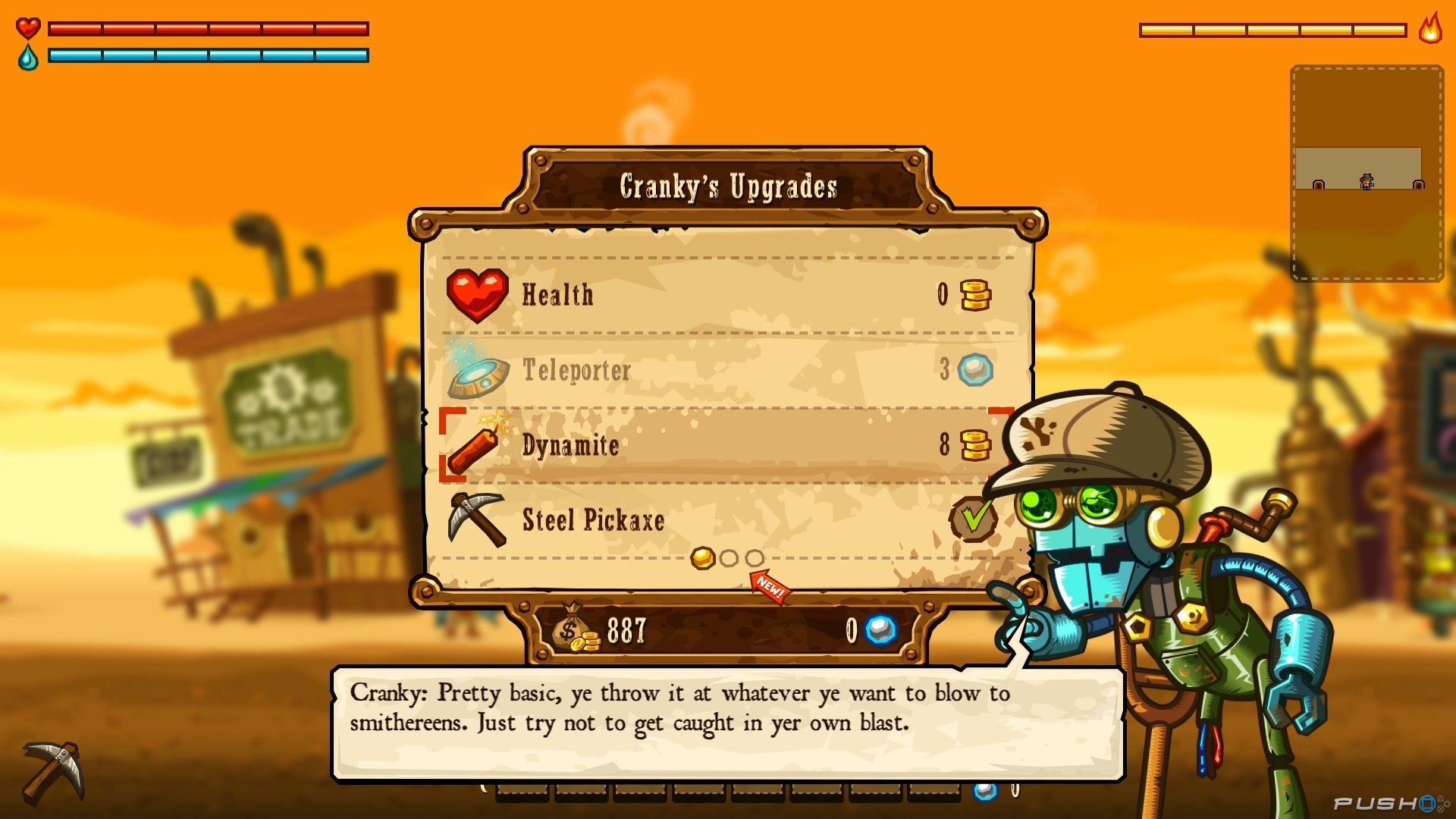 Скриншот SteamWorld Dig
