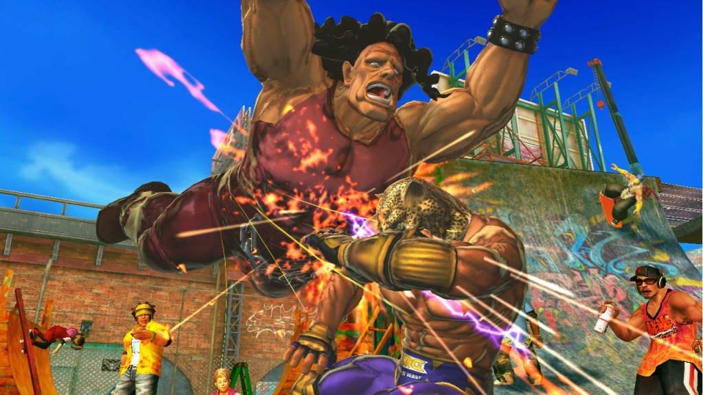 Скриншот Street Fighter X Tekken