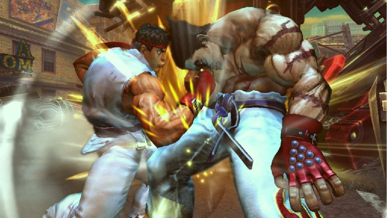 Скриншот Street Fighter X Tekken
