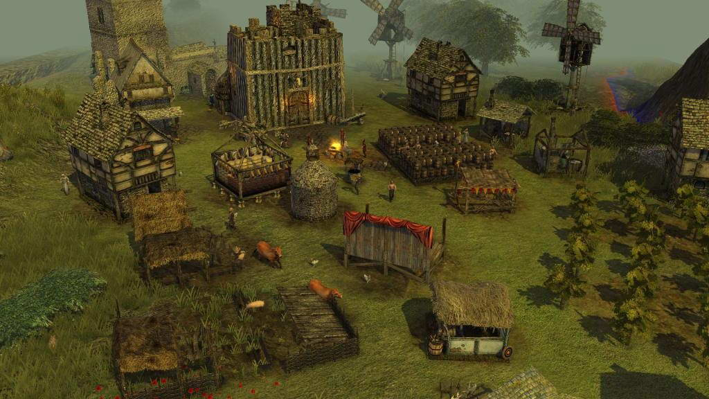 Скриншот Stronghold 3