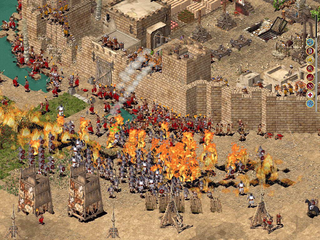 Скриншот Stronghold: Crusader