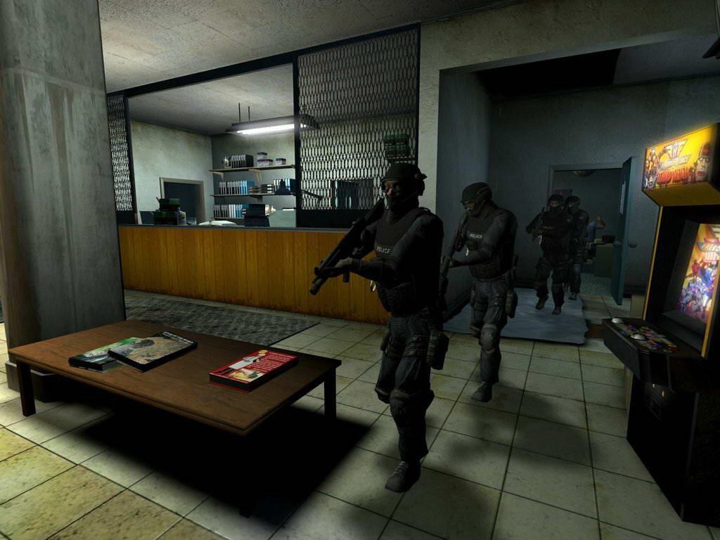 Скриншот SWAT 4