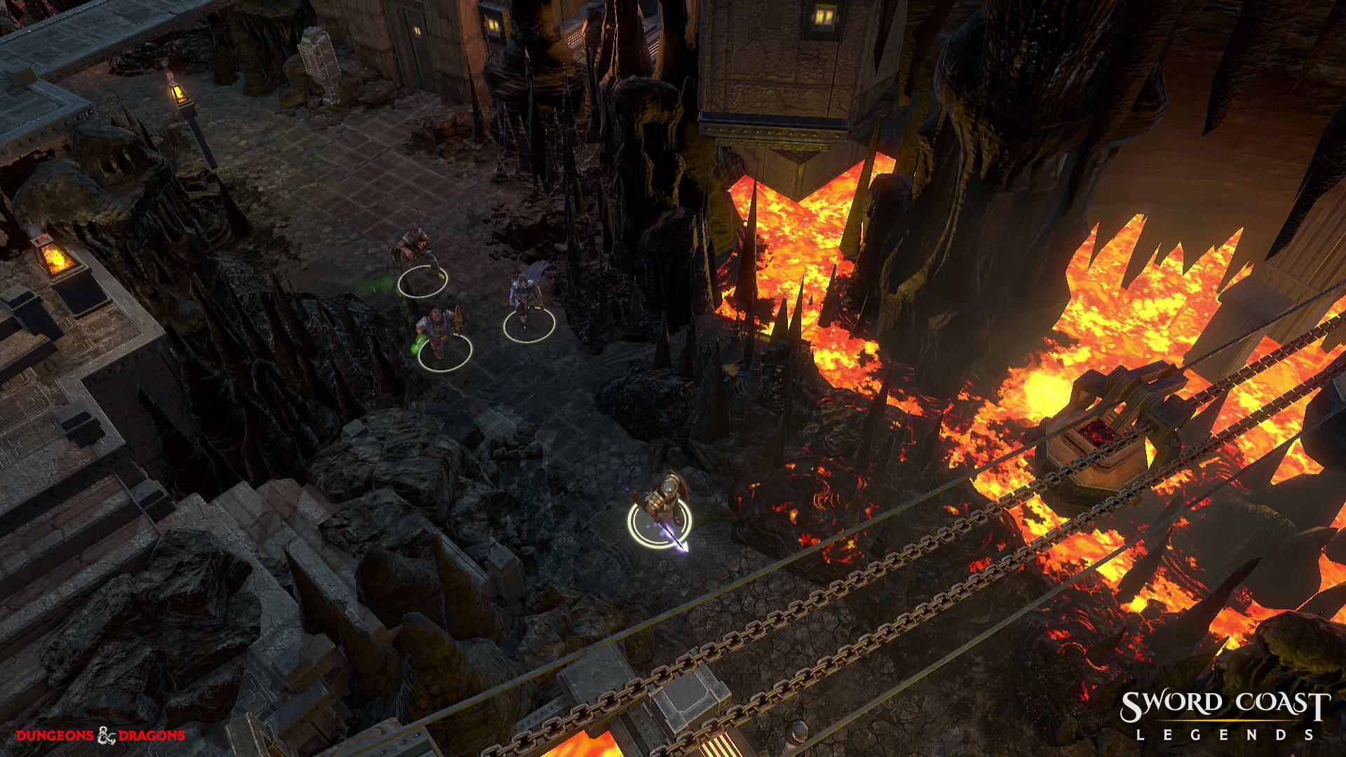 Скриншот Sword Coast Legends