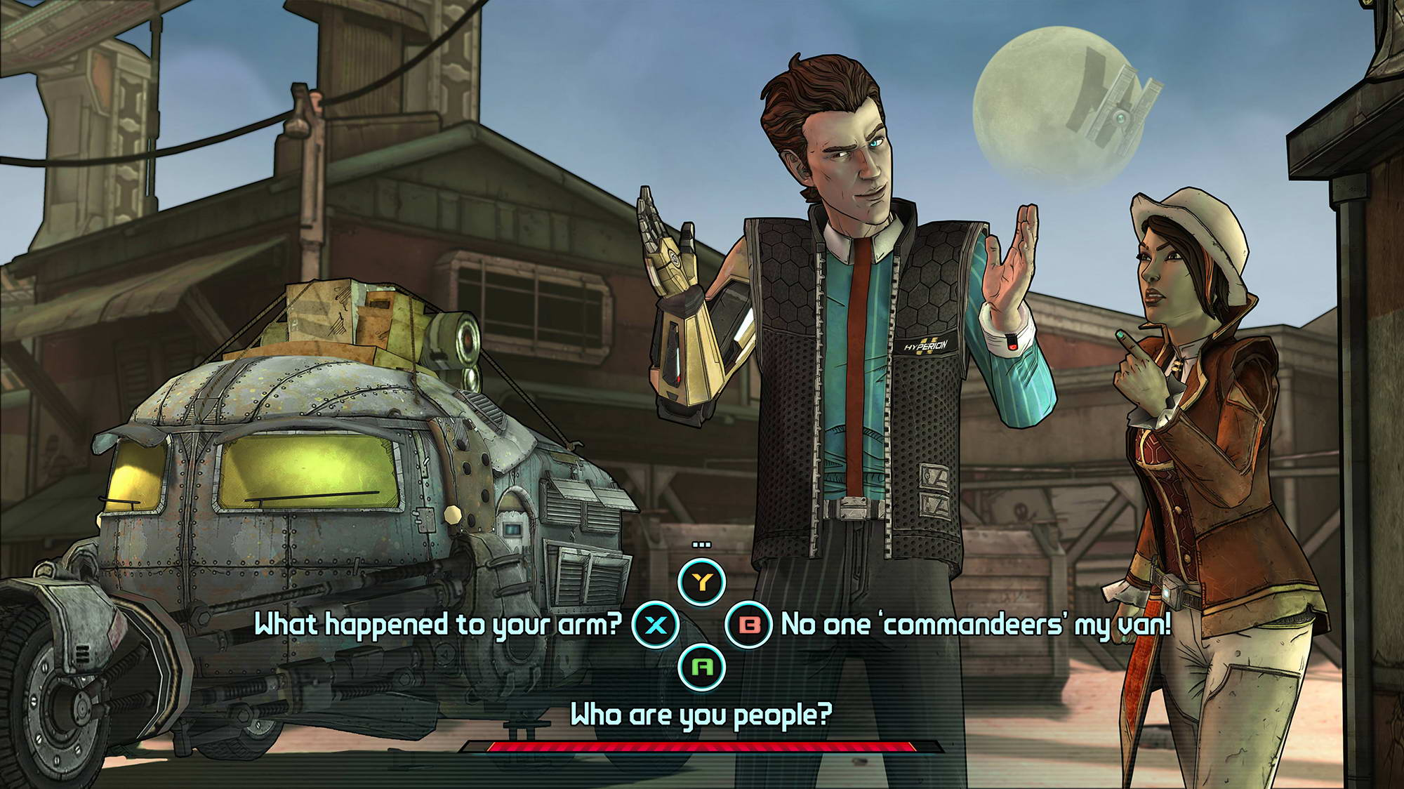 Скриншот Tales from the Borderlands: Episode One - Zer0 Sum