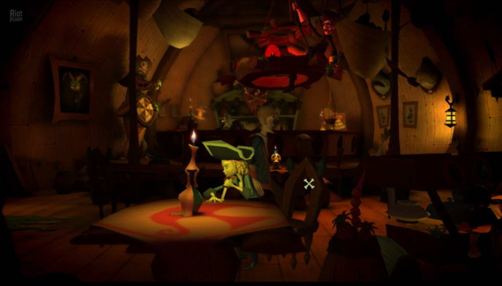 Скриншот Tales of Monkey Island Chapter 4: The Trial and Execution of Guybrush Threepwood