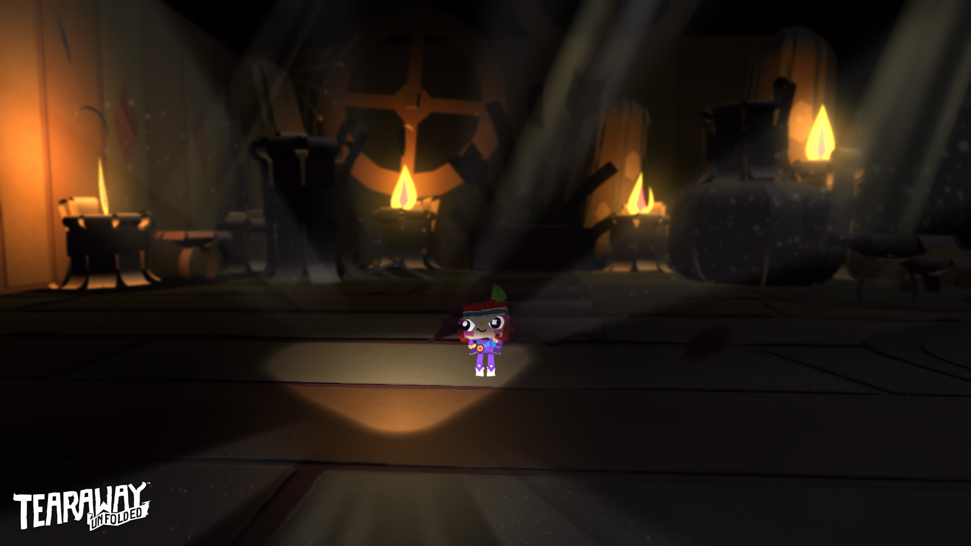 Скриншот Tearaway Unfolded
