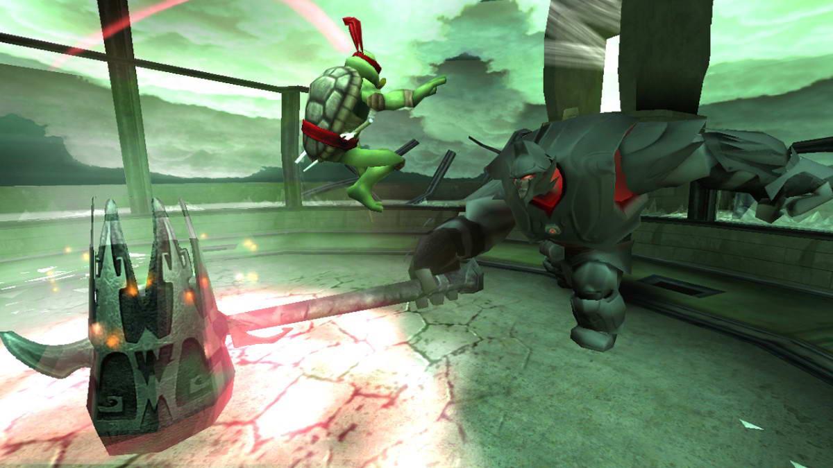 Скриншот Teenage Mutant Ninja Turtles: The Video Game