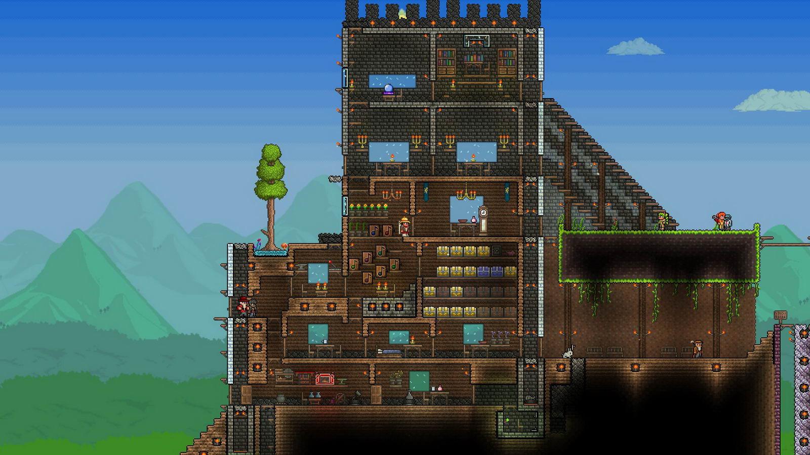 Скриншот Terraria