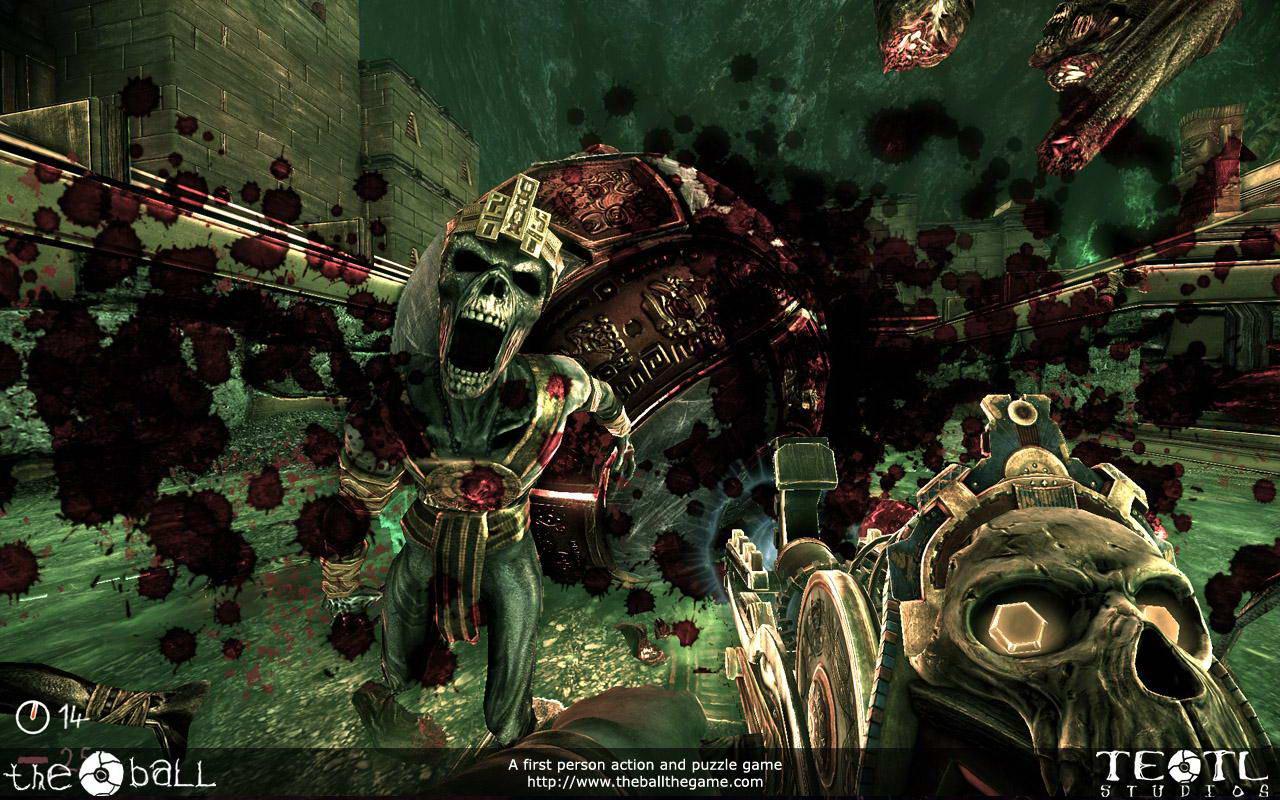 Скриншот The Ball: Оружие мертвых