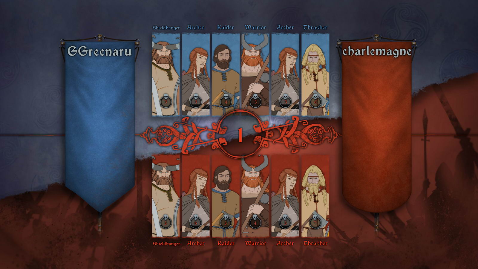 Скриншот The Banner Saga: Factions