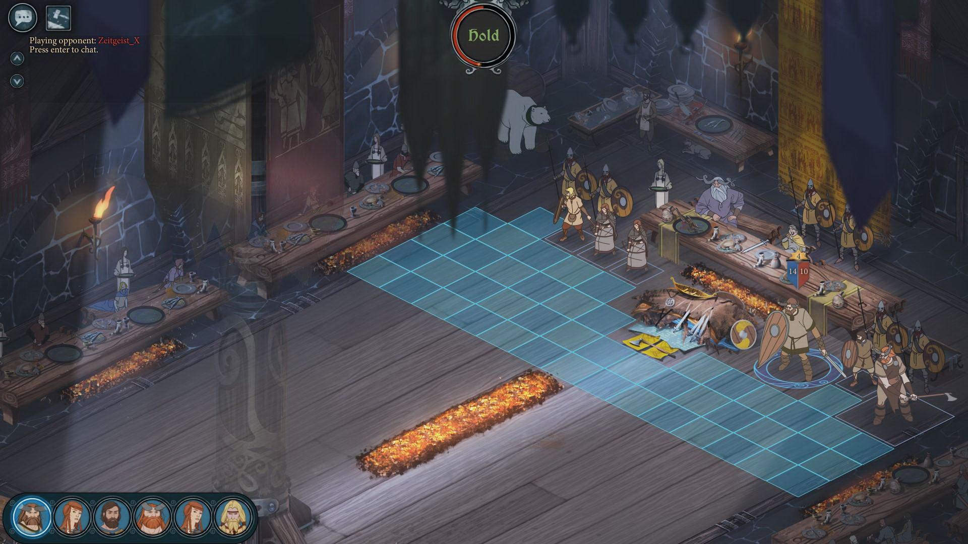 Скриншот The Banner Saga