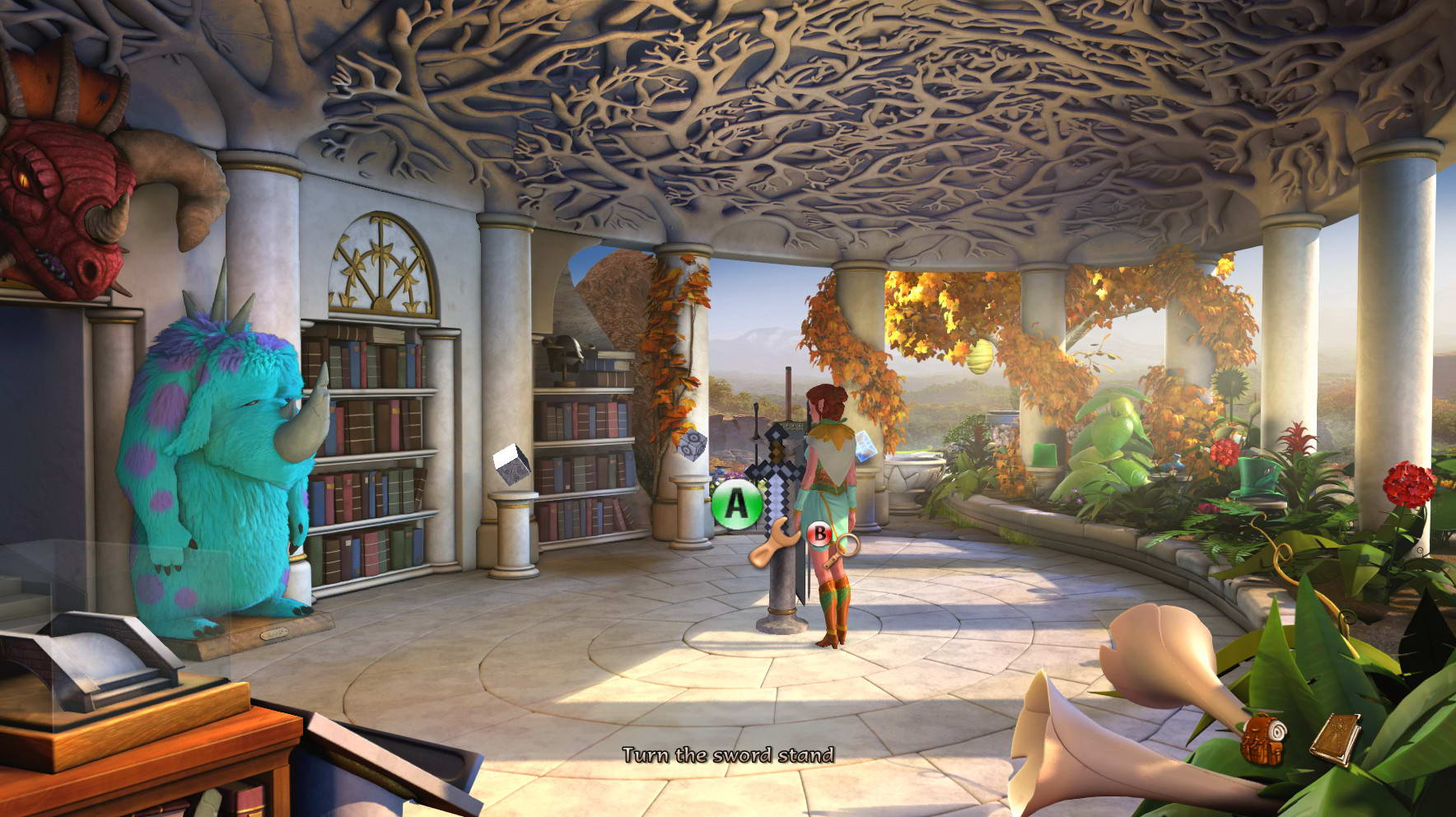 Скриншот The Book of Unwritten Tales 2