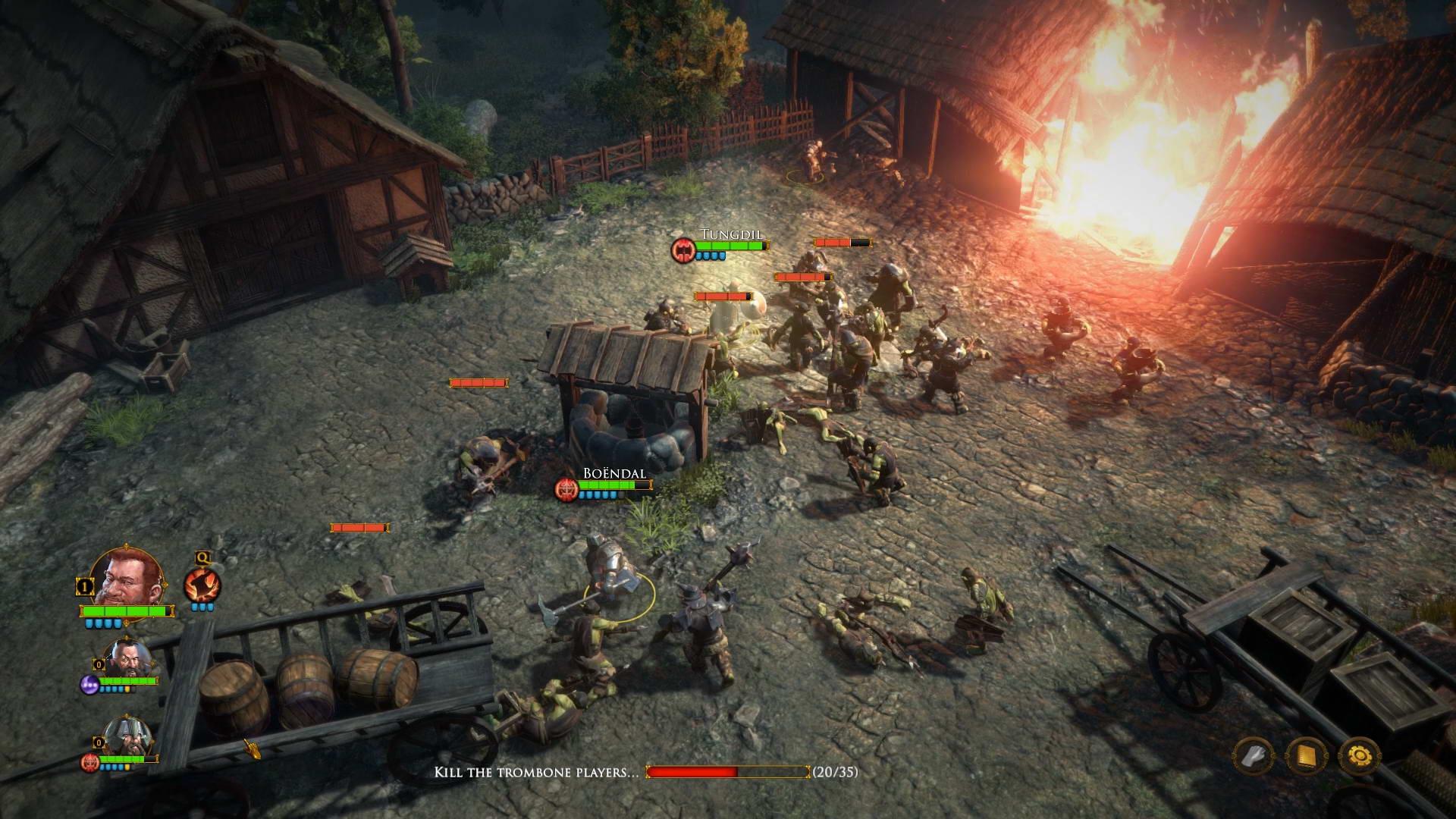 Скриншот The Dwarves