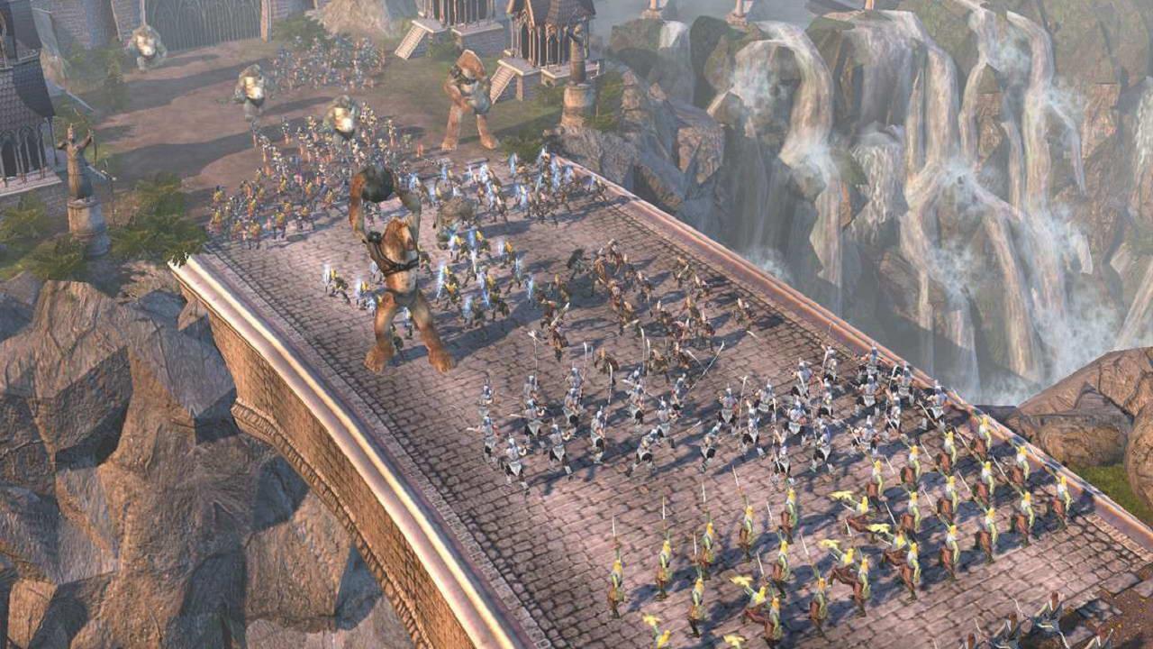 Властелин колец битва за средиземье 1 как сделать на весь экран
