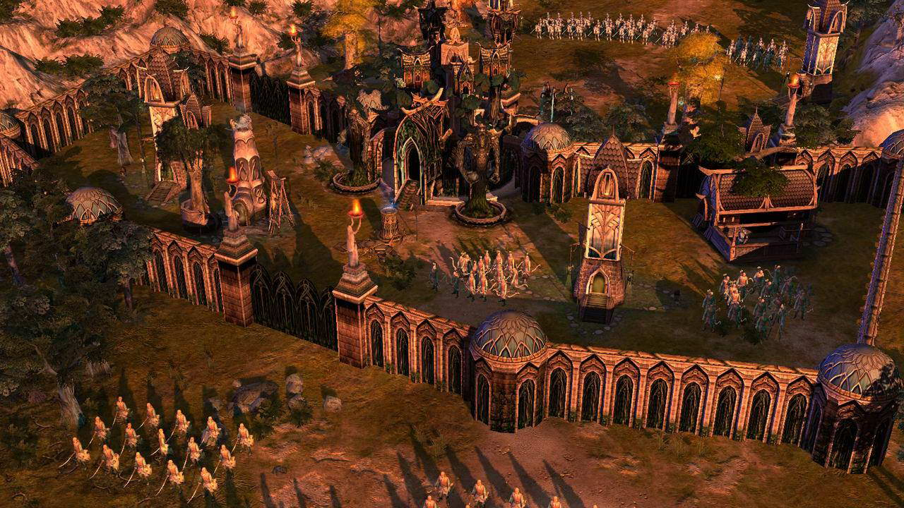 Скриншот The Lord of the Rings: The Battle for Middle-Earth II