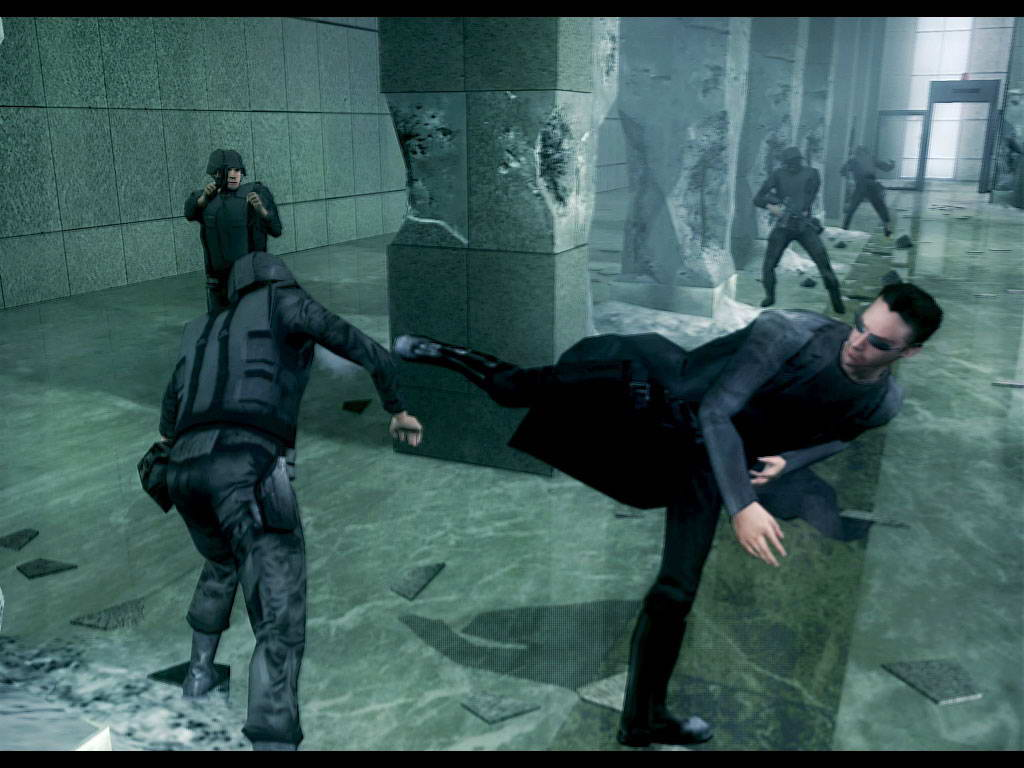 Скриншот The Matrix: Path of Neo
