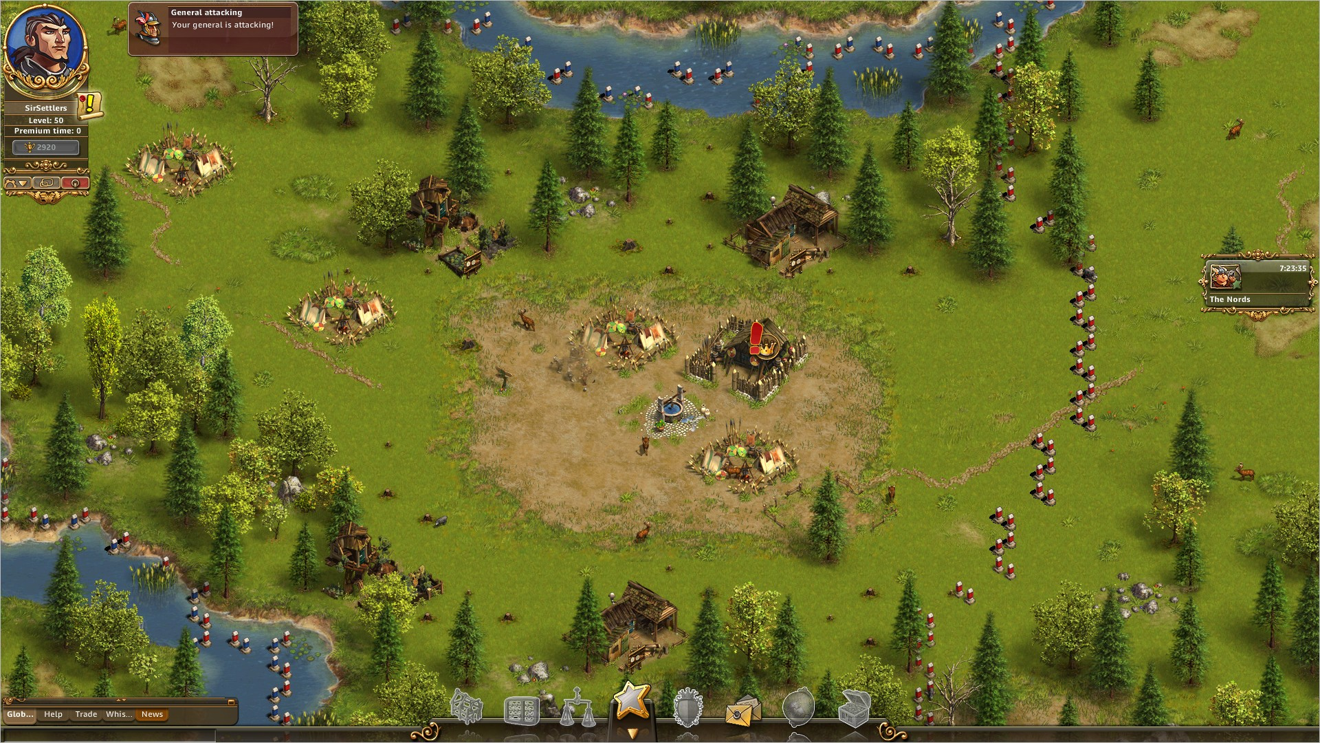 Скриншот The Settlers Online