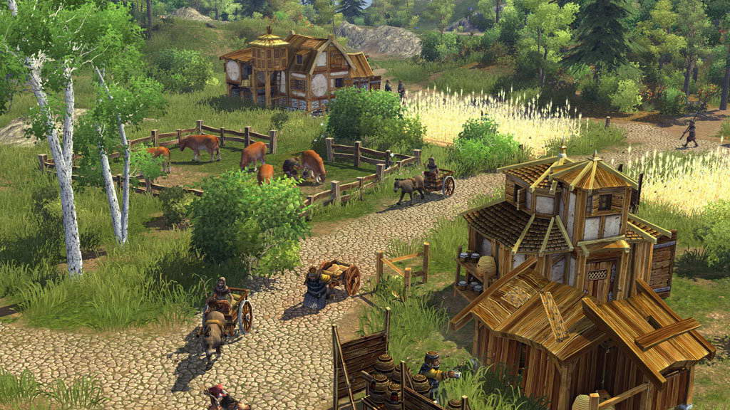 Скриншот The Settlers: Rise of an Empire
